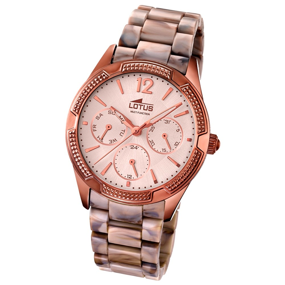 LOTUS Damen-Armbanduhr Trendy analog Quarz Kunstharz UL15928/1