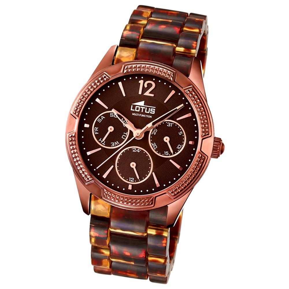 LOTUS Damen-Armbanduhr Trendy analog Quarz Kunstharz UL15928/2