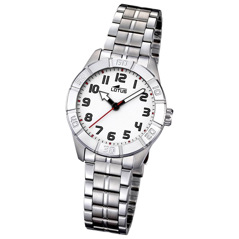 LOTUS Jugend-Armbanduhr Junior analog Quarz Edelstahl UL15943/1