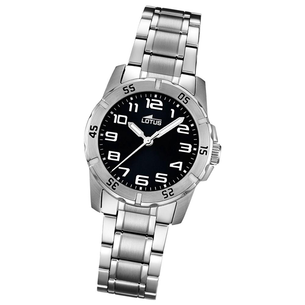 LOTUS Jugend-Armbanduhr Junior analog Quarz Edelstahl UL15944/3