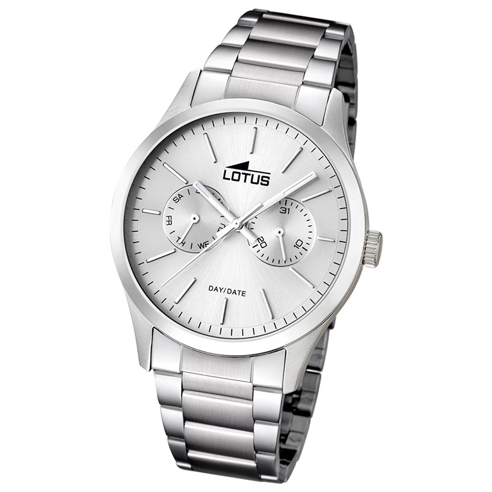 LOTUS Herren-Armbanduhr Minimalist analog Quarz Edelstahl UL15954/1