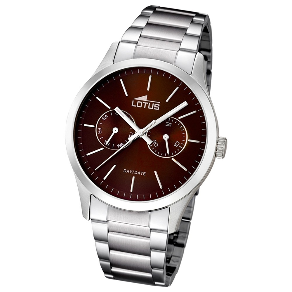 LOTUS Herren-Armbanduhr Minimalist analog Quarz Edelstahl UL15954/2
