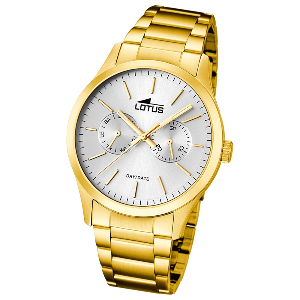 LOTUS Herren-Armbanduhr Minimalist analog Quarz Edelstahl UL15955/1
