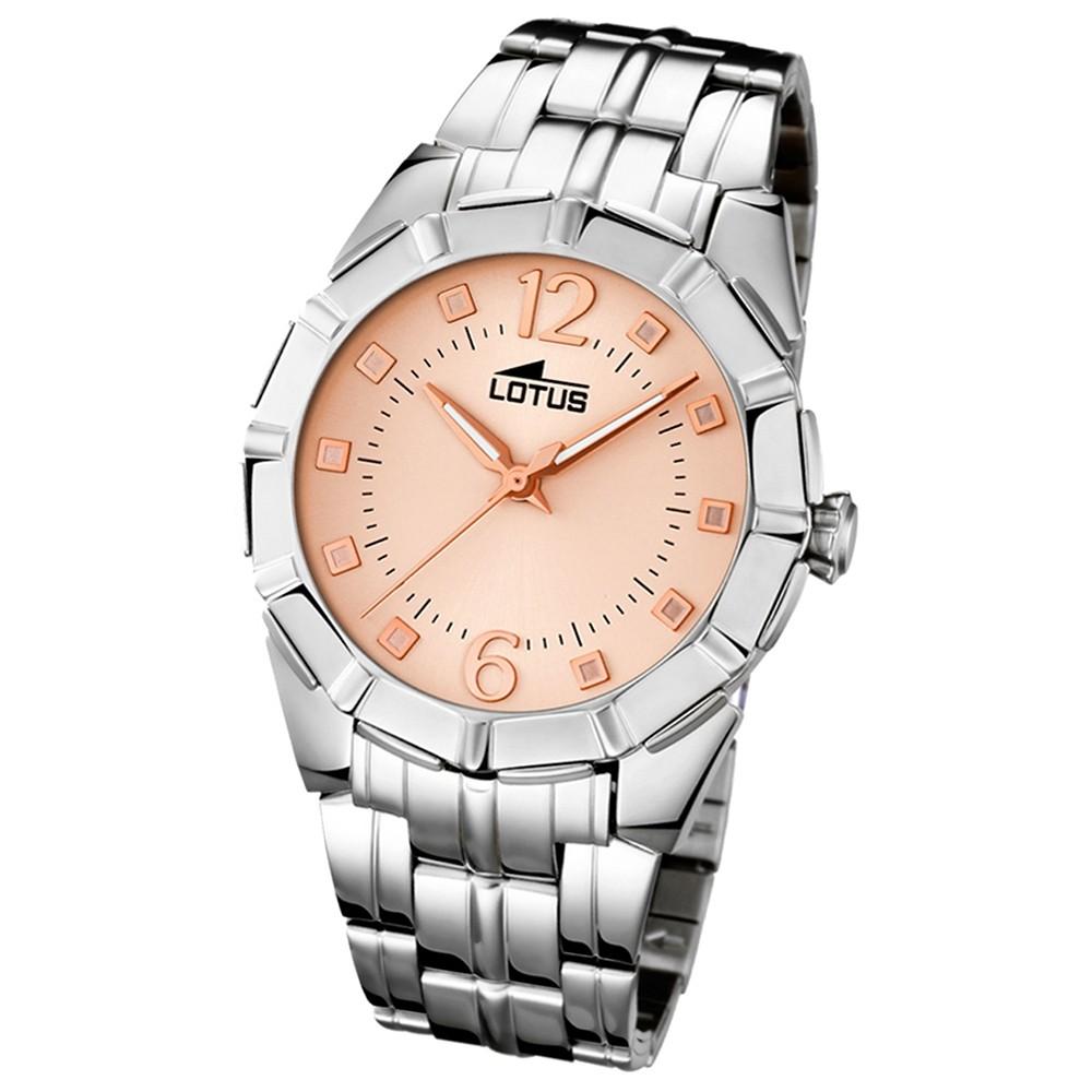 LOTUS Damen-Uhr - Woman/Trendy/Lady - Analog - Quarz - Edelstahl - UL15987/3