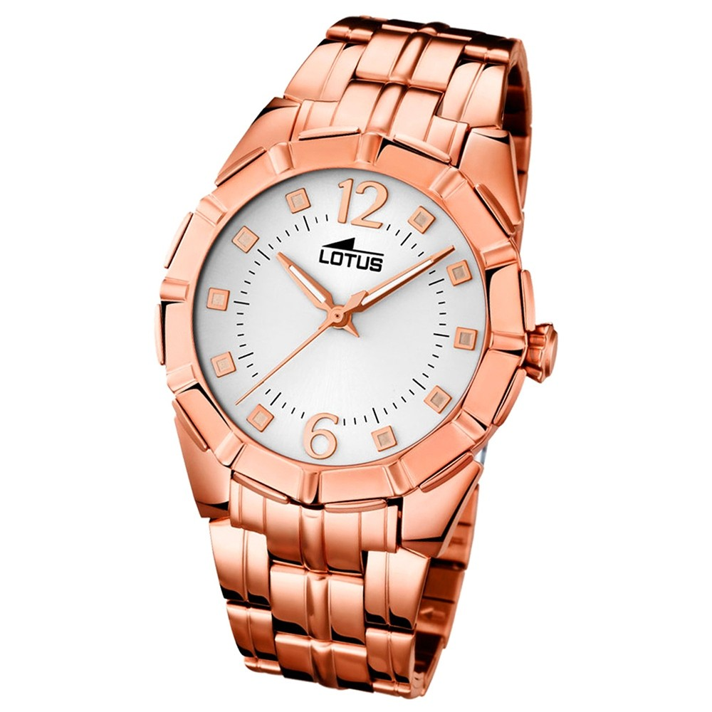 LOTUS Damen-Uhr - Woman/Trendy/Lady - Analog - Quarz - Edelstahl - UL15989/1