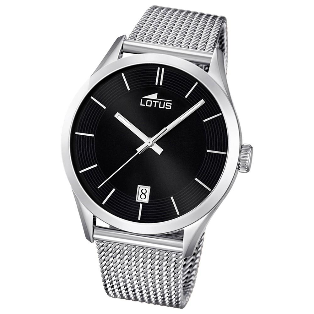 LOTUS Unisex-Uhr - Minimalist - Analog - Quarz - Edelstahl - UL18108/2