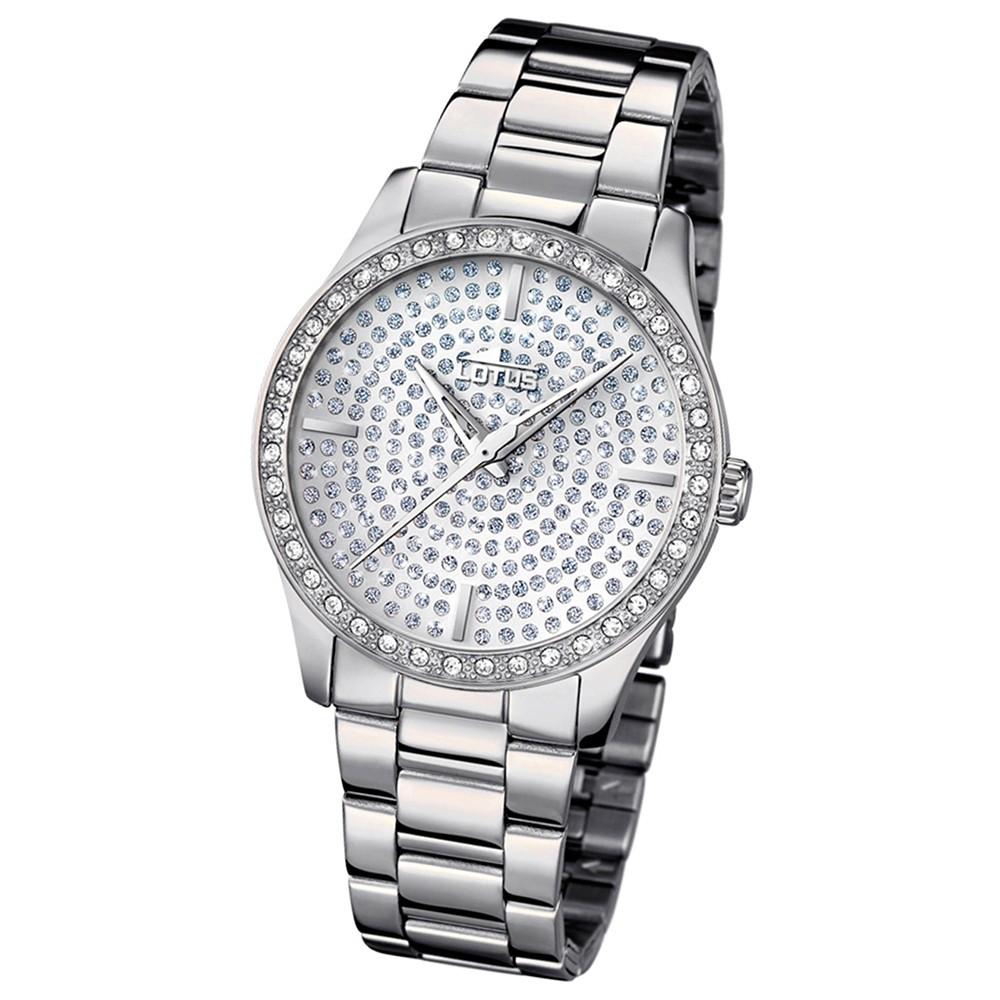 LOTUS Damen-Armbanduhr Analog Quarz Edelstahl silber UL18134/1