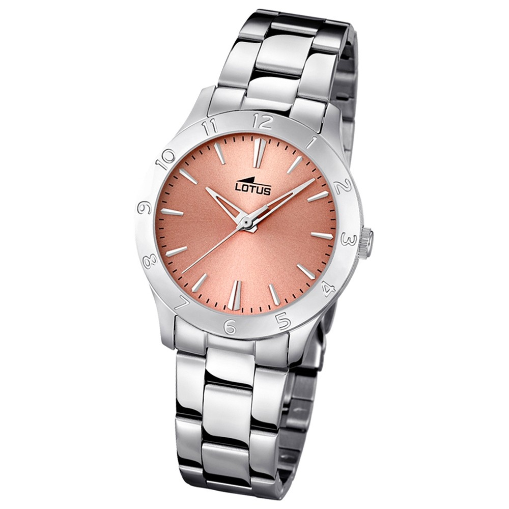 LOTUS Damen-Uhr - Woman/Trendy/Lady - Analog - Quarz - Edelstahl - UL18138/2