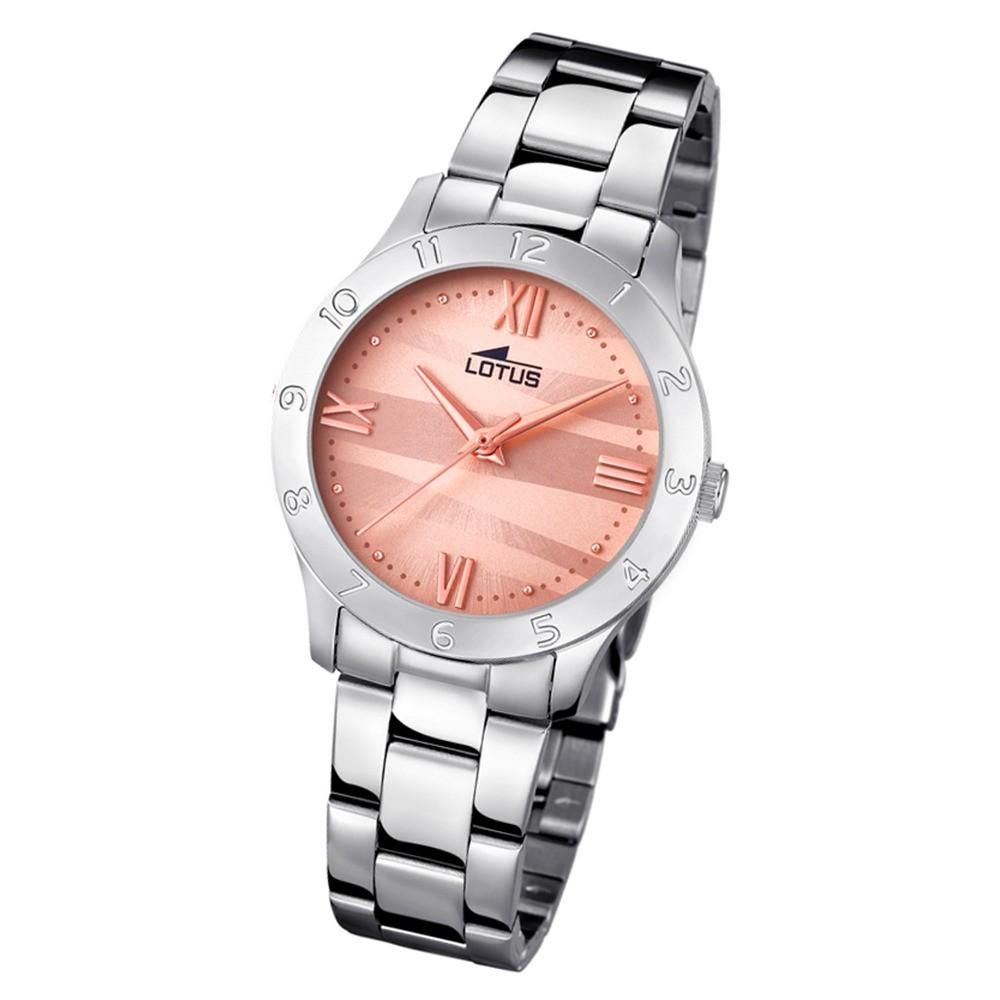 Lotus Damen-Armbanduhr Edelstahl silber 18138/5 Quarz Trendy UL18138/5