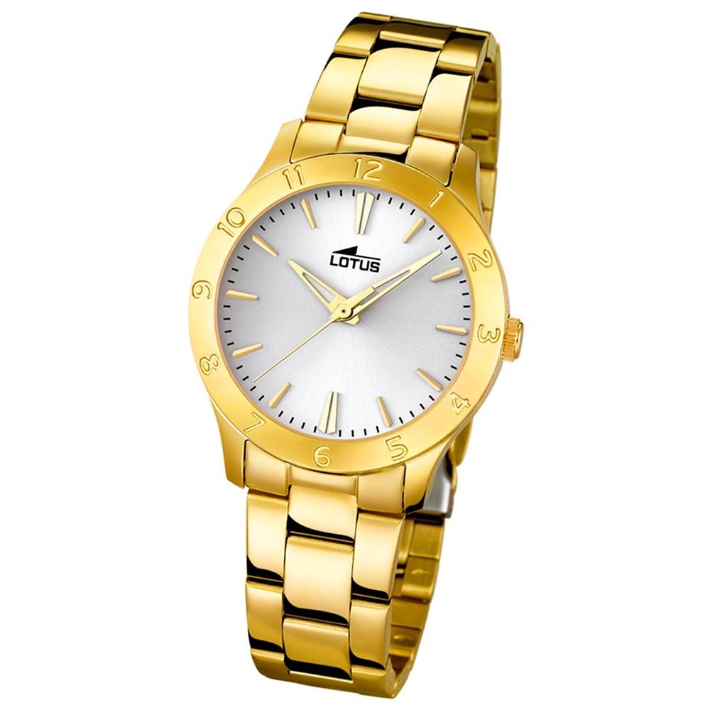 LOTUS Damen-Uhr - Woman/Trendy/Lady - Analog - Quarz - Edelstahl - UL18140/1