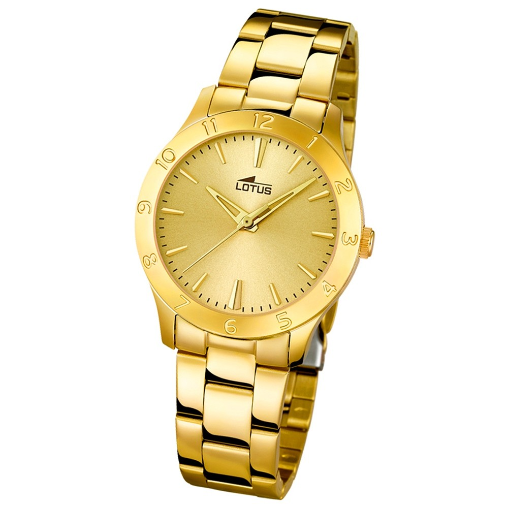 LOTUS Damen-Uhr - Woman/Trendy/Lady - Analog - Quarz - Edelstahl - UL18140/2