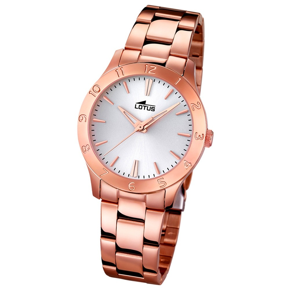 LOTUS Damen-Uhr - Woman/Trendy/Lady - Analog - Quarz - Edelstahl - UL18141/1