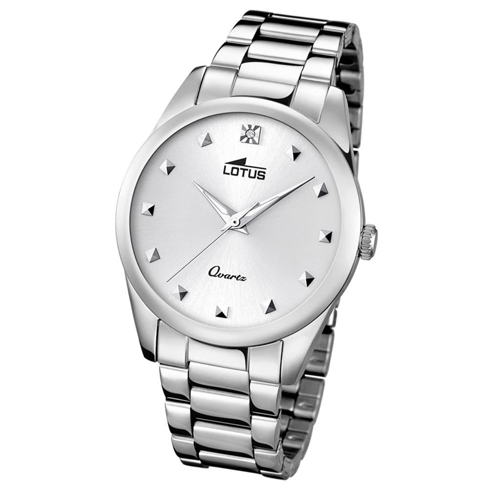 LOTUS Damen-Uhr - Woman/Trendy/Lady - Analog - Quarz - Edelstahl - UL18142/1