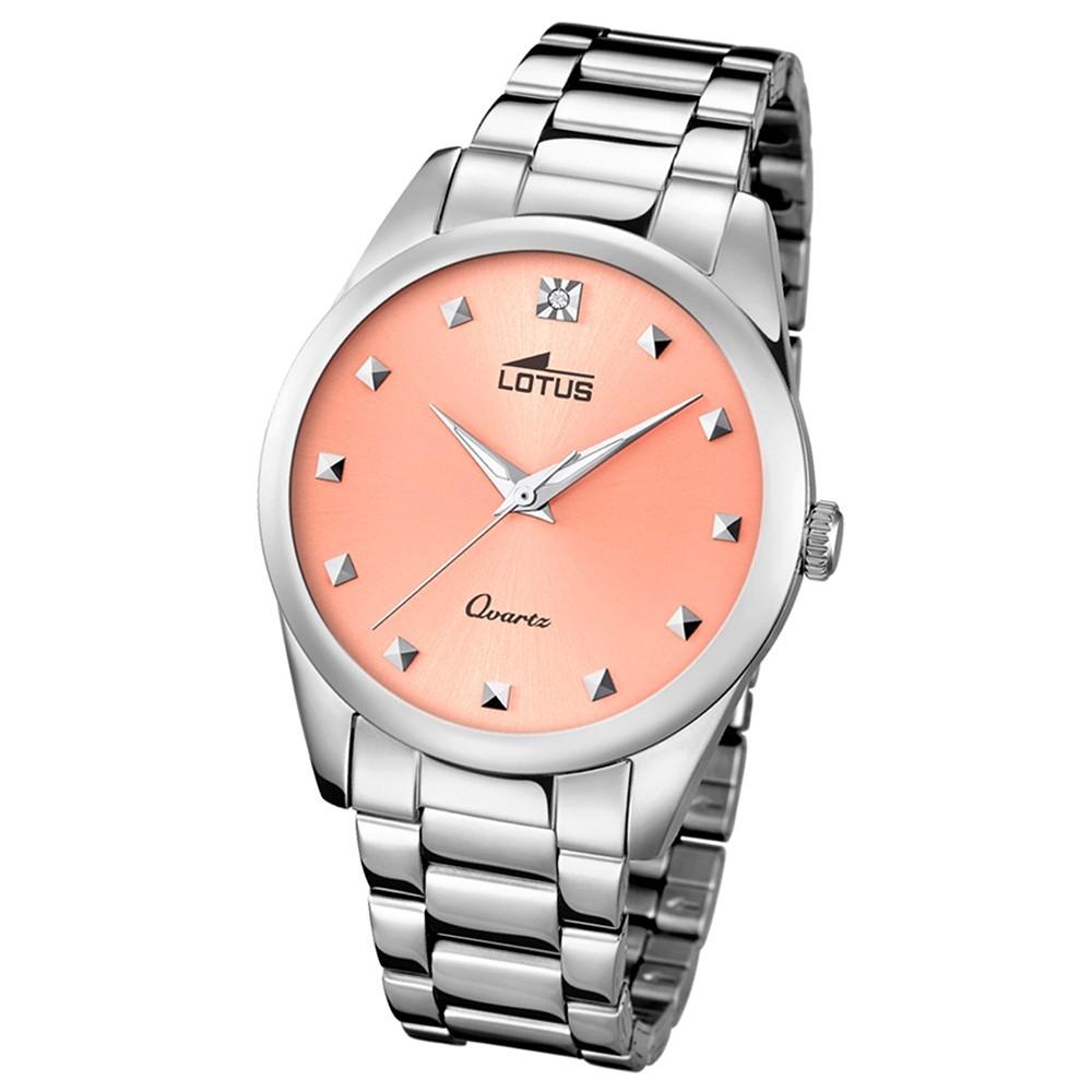 LOTUS Damen-Uhr - Woman/Trendy/Lady - Analog - Quarz - Edelstahl - UL18142/2