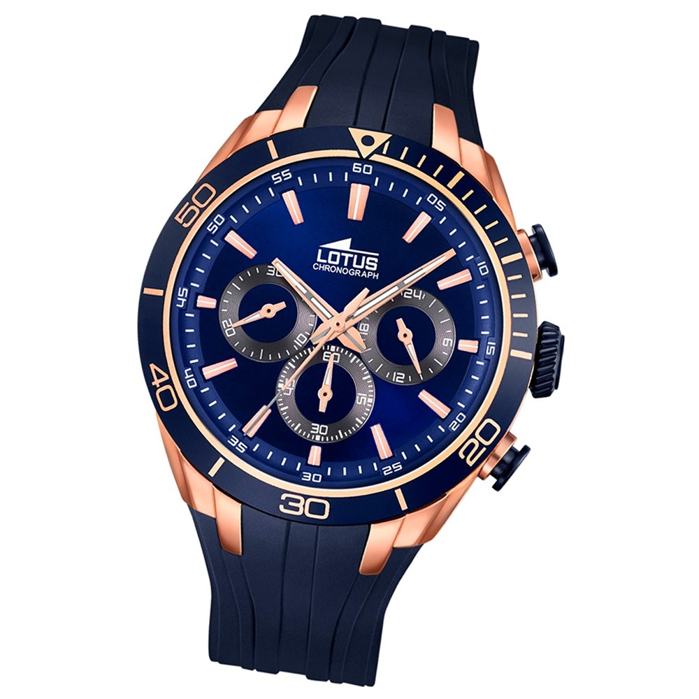 LOTUS Herren-Uhr - Smart Casual - Analog - Quarz - PU - UL18193/1