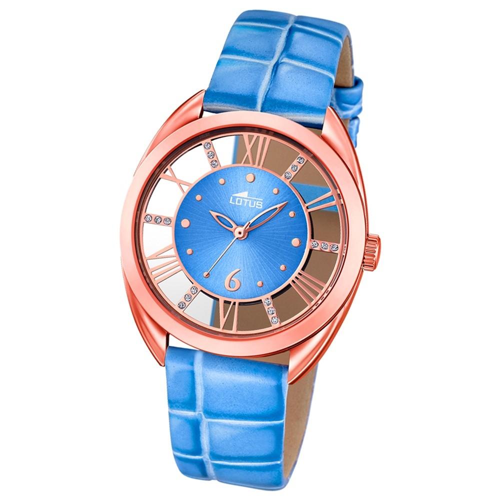LOTUS Damen-Uhr - Woman/Trendy/Lady - Analog - Quarz - Leder - UL18226/2