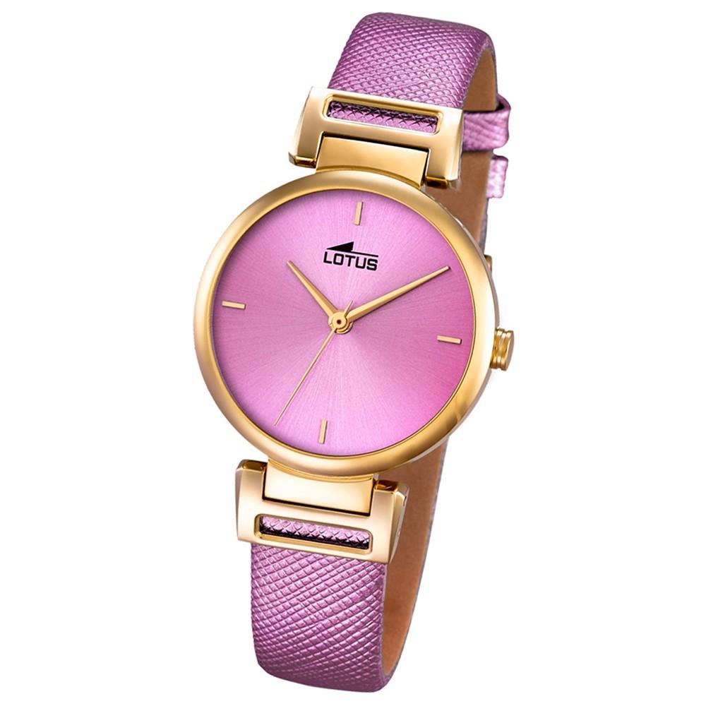 LOTUS Damen-Uhr - Woman/Trendy/Lady - Analog - Quarz - Leder - UL18228/2
