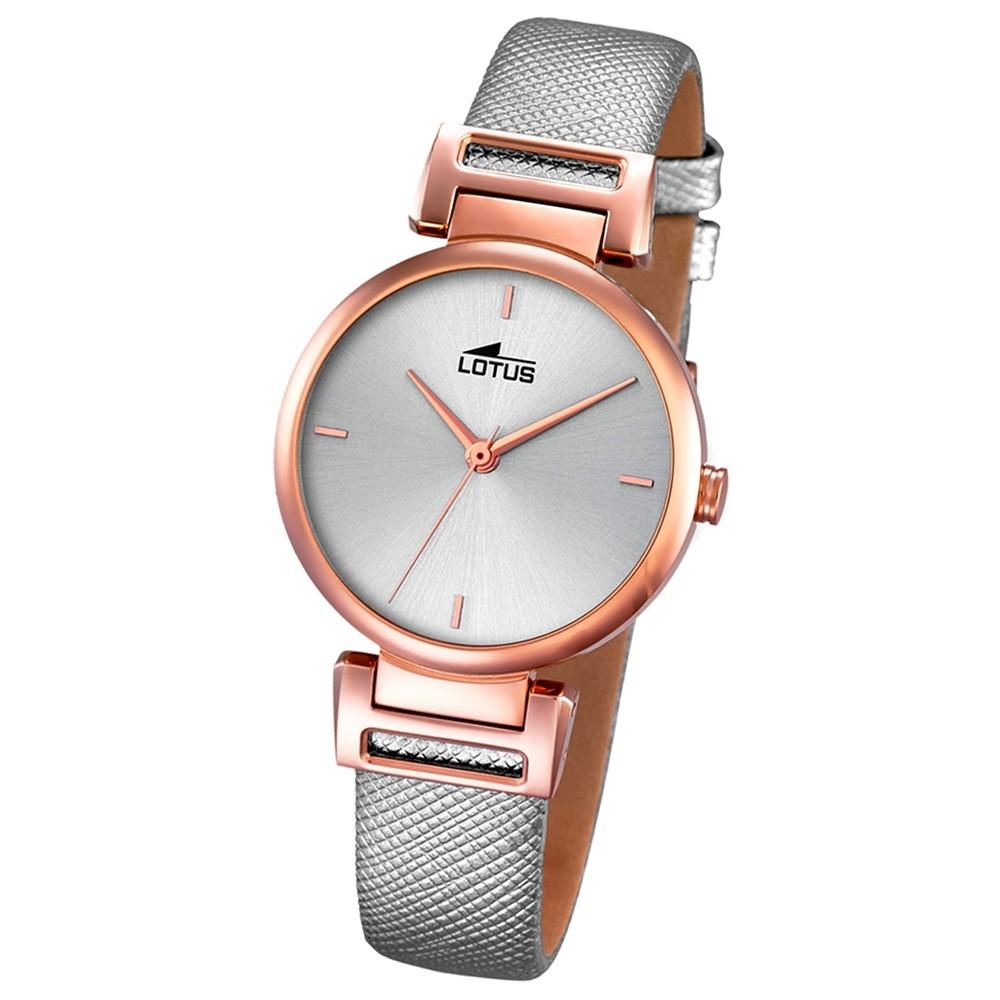LOTUS Damen-Uhr - Woman/Trendy/Lady - Analog - Quarz - Leder - UL18229/1