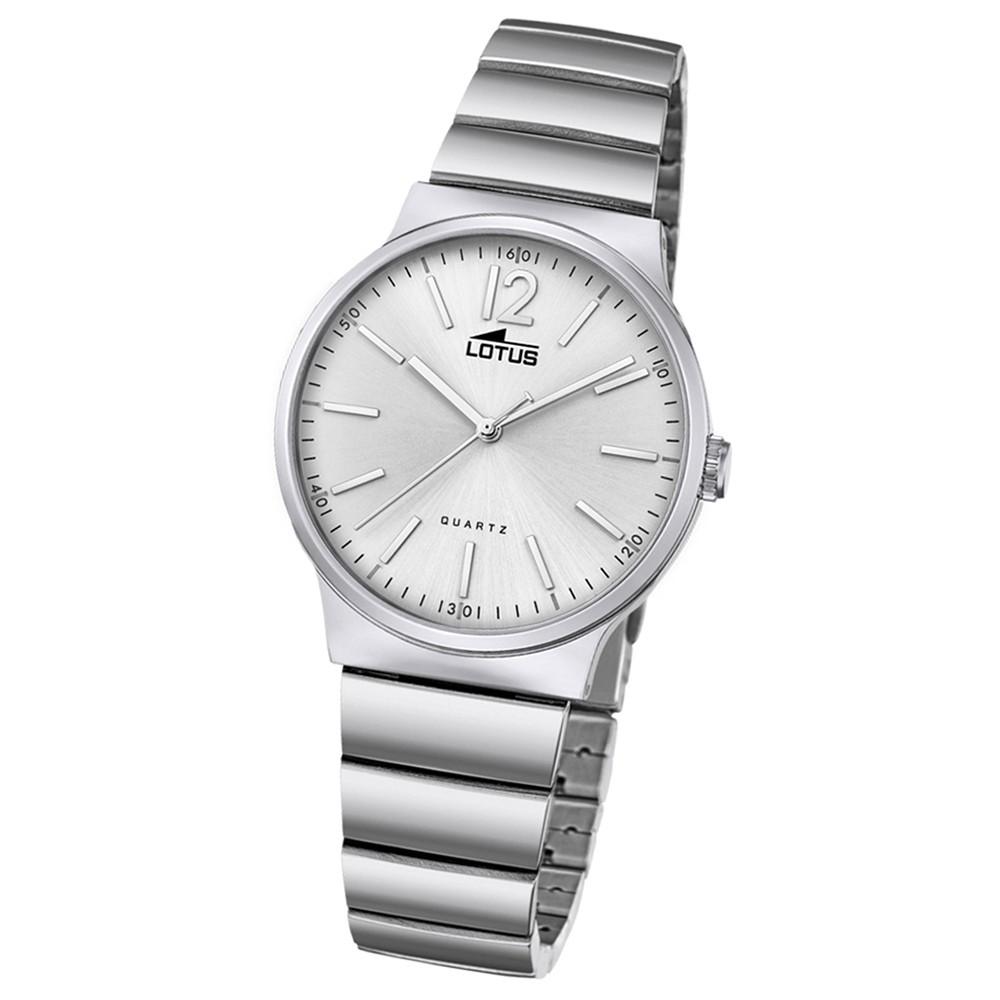 Lotus Damen-Armbanduhr Edelstahl silber 18469/1 Quarz Minimalist UL18469/1