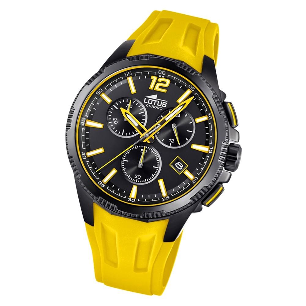 LOTUS Herren Armbanduhr Lotus R 18591/4 Quarz PU gelb UL18591/4
