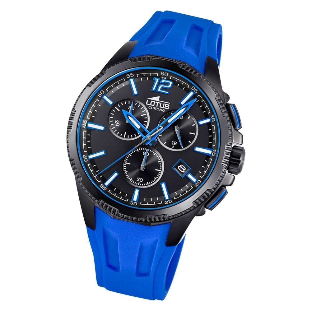 LOTUS Herren Armbanduhr Lotus R 18591/5 Quarz PU blau UL18591/5