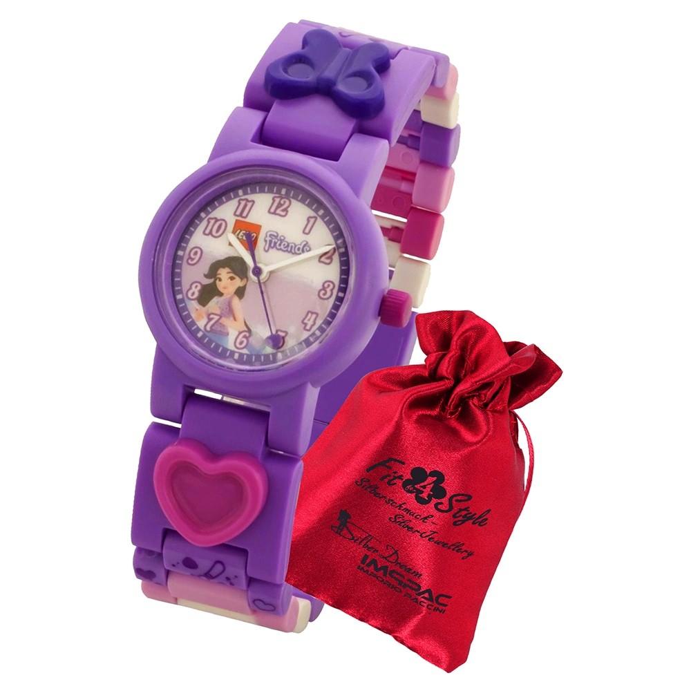 LEGO Friends Emma 8021223 Quarz Kinder-Uhr mit Säckchen ULE8021223