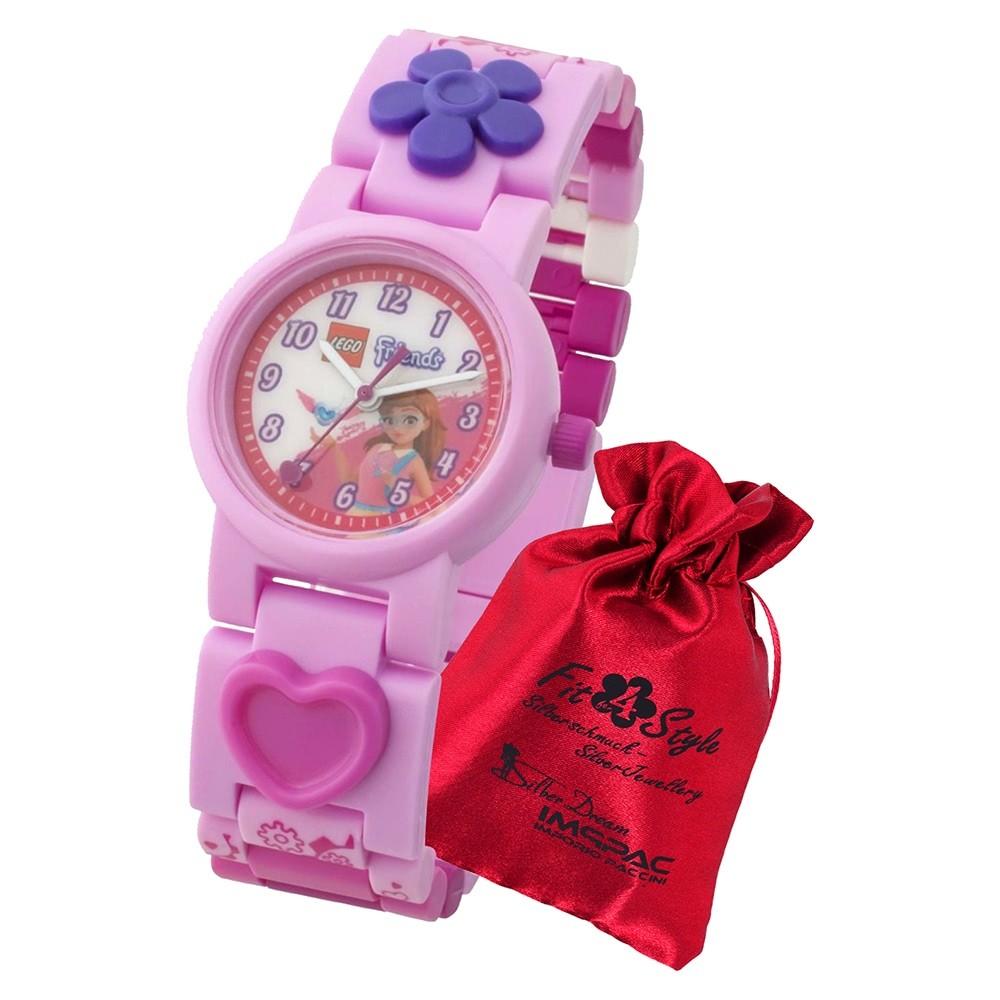 LEGO Friends Olivia 8021247 Quarz Kinder-Uhr mit Säckchen ULE8021247