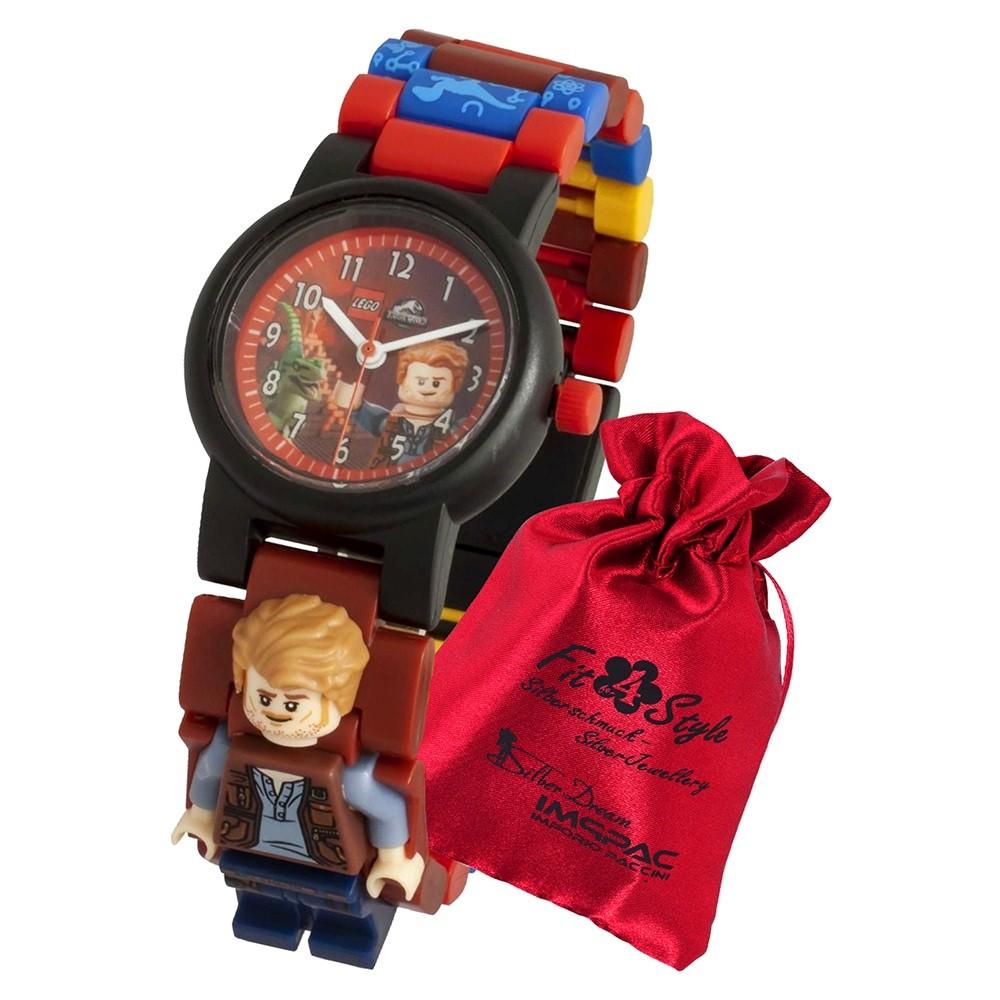 LEGO Jurassic World Owen 8021261 Quarz Kinder-Uhr mit Säckchen ULE8021261