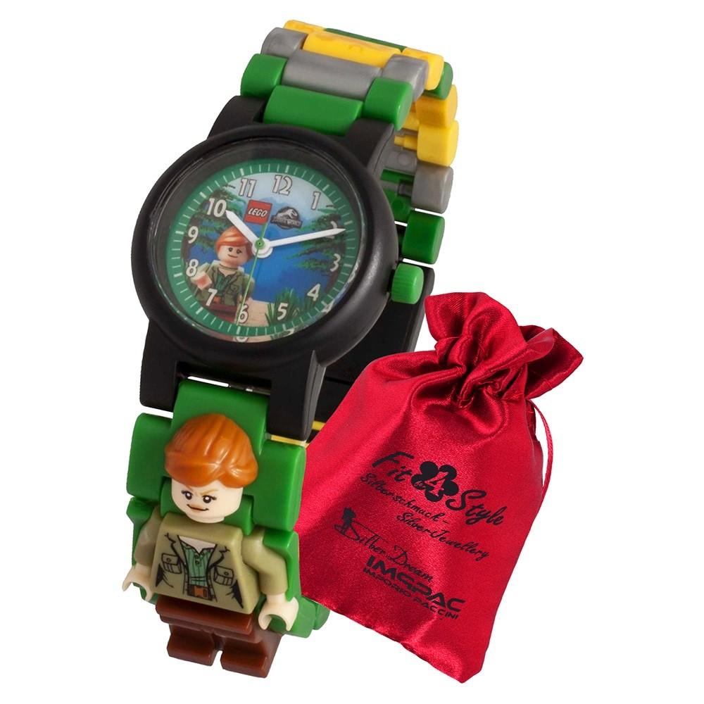 LEGO Jurassic World Claire 8021278 Quarz Kinder-Uhr mit Säckchen ULE8021278