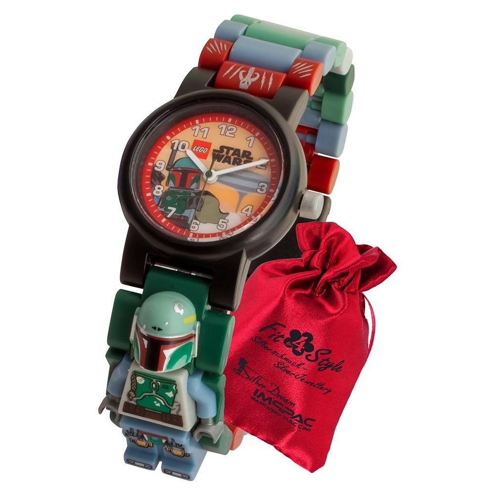 LEGO Star Wars Boba Fett 8021513 Kinder-Uhr mit Säckchen ULE8021513