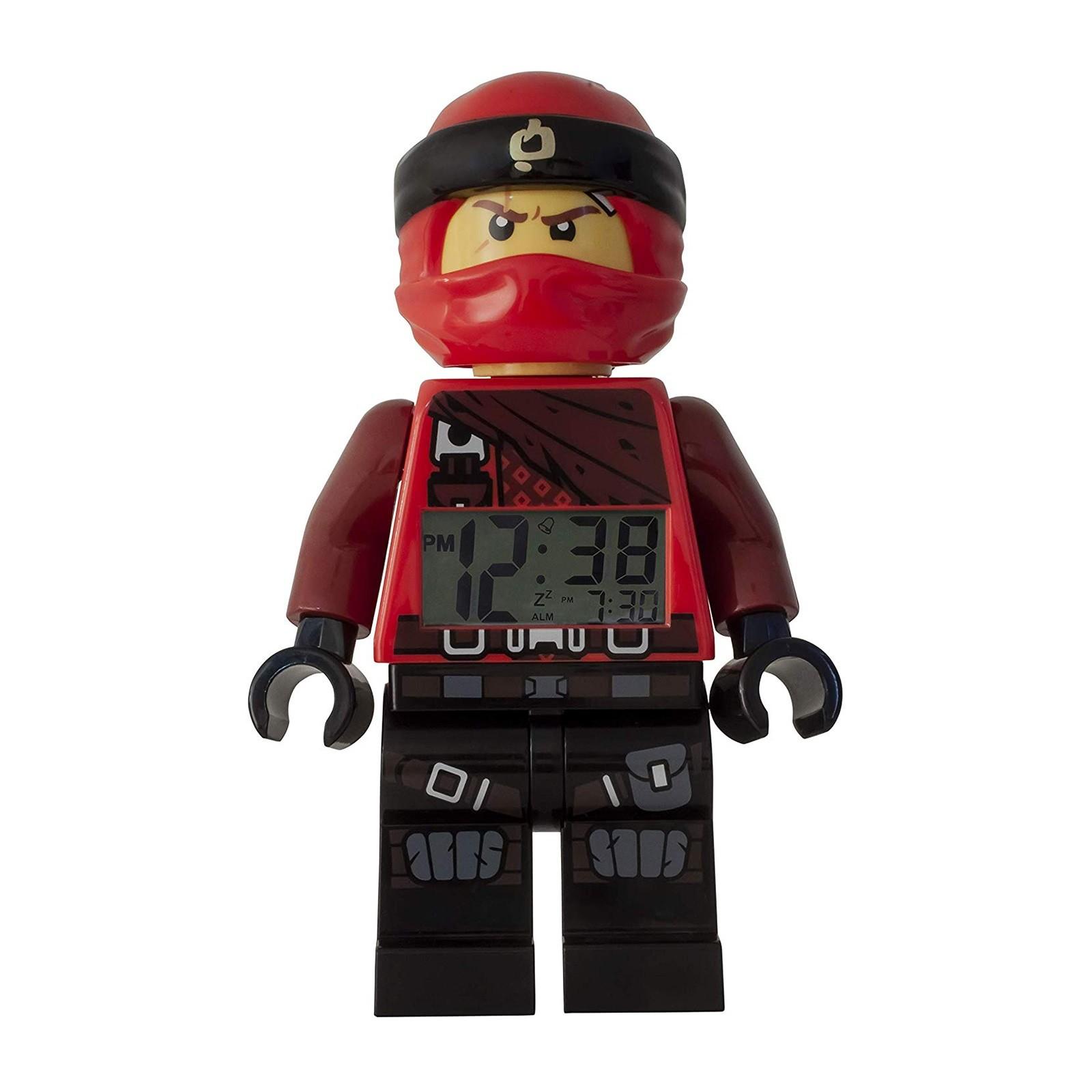 LEGO Ninjago Kai Figur Uhr 9009181 Kinder Digital Wecker ULE9009181
