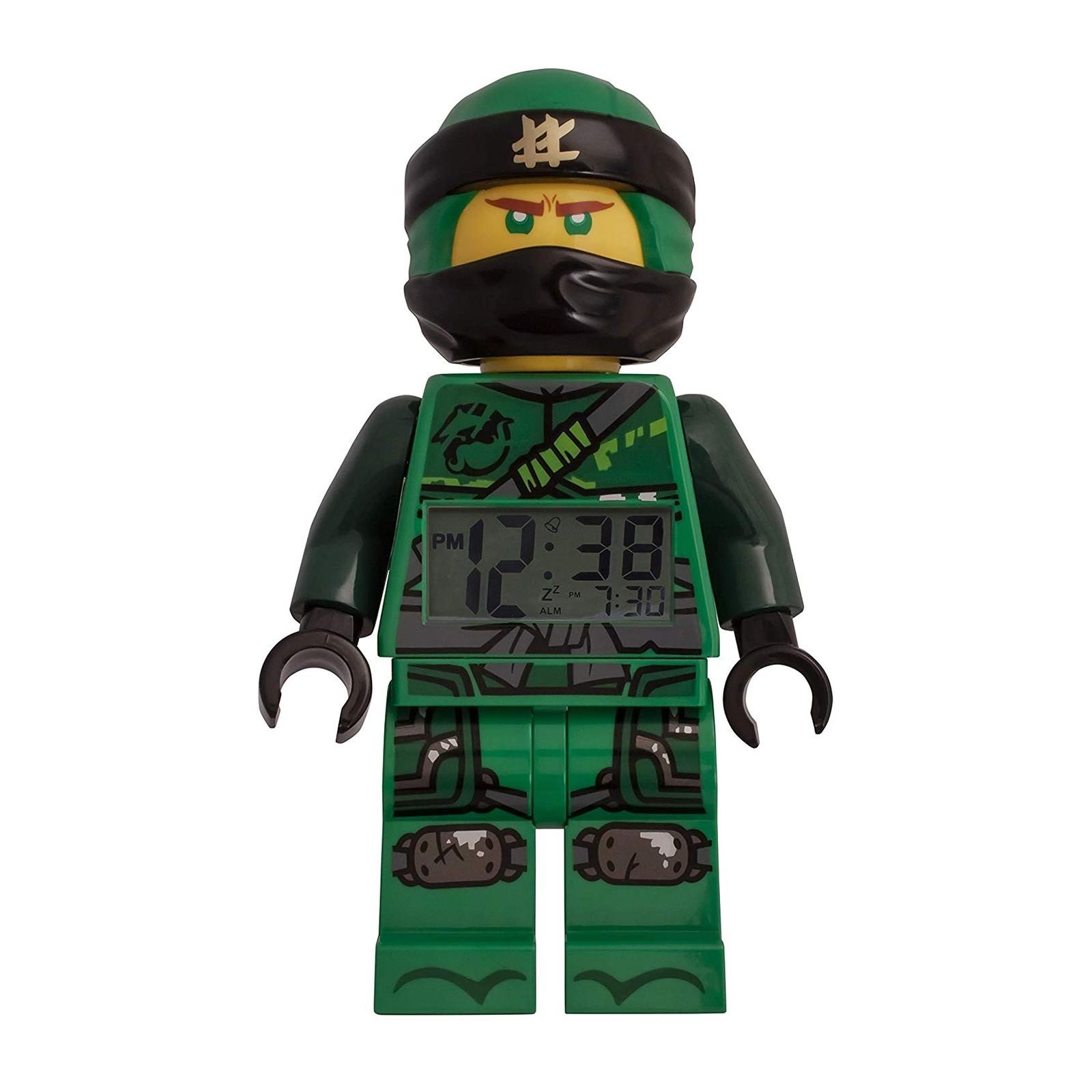 LEGO Ninjago Lloyd Figur Uhr 9009198 Kinder Digital Wecker ULE9009198