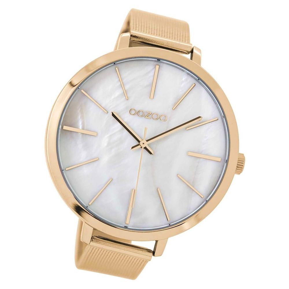 Oozoo Damen Armbanduhr rosegold Timepieces C9113 Metallarmband rosegold UOC9113