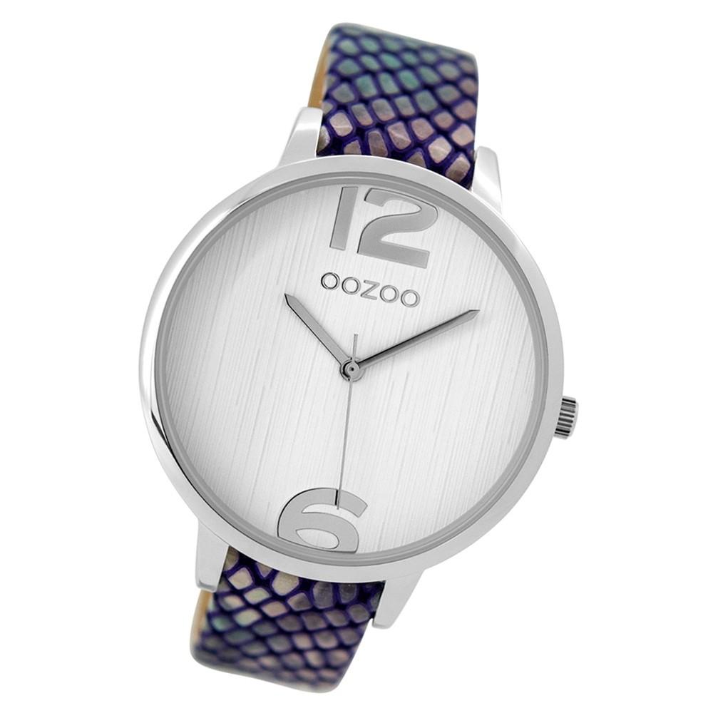 Oozoo Damen Armbanduhr Timepieces C9532 Quarz Leder mehrfarbig UOC9532