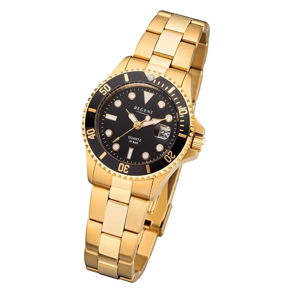 Damen Gold Uhr