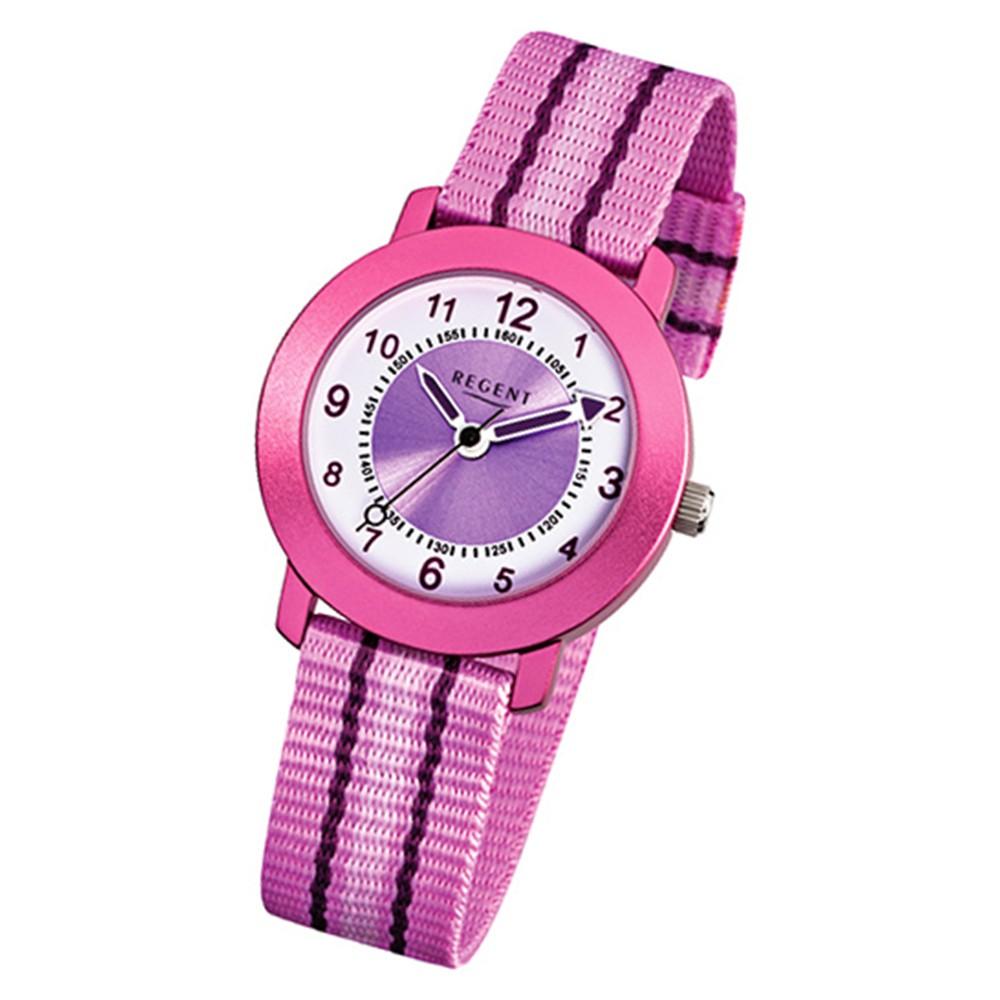 Armbanduhr kinder  Armbanduhr Kinder Quarz Aluminium Textil rosa Mädchen Uhr URF725