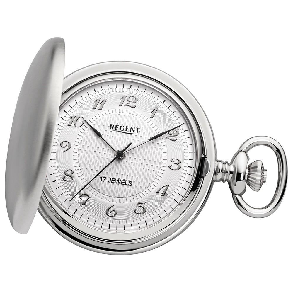 Regent Taschenuhren Herren mechanisches Uhrwerk Handaufzug URP014
