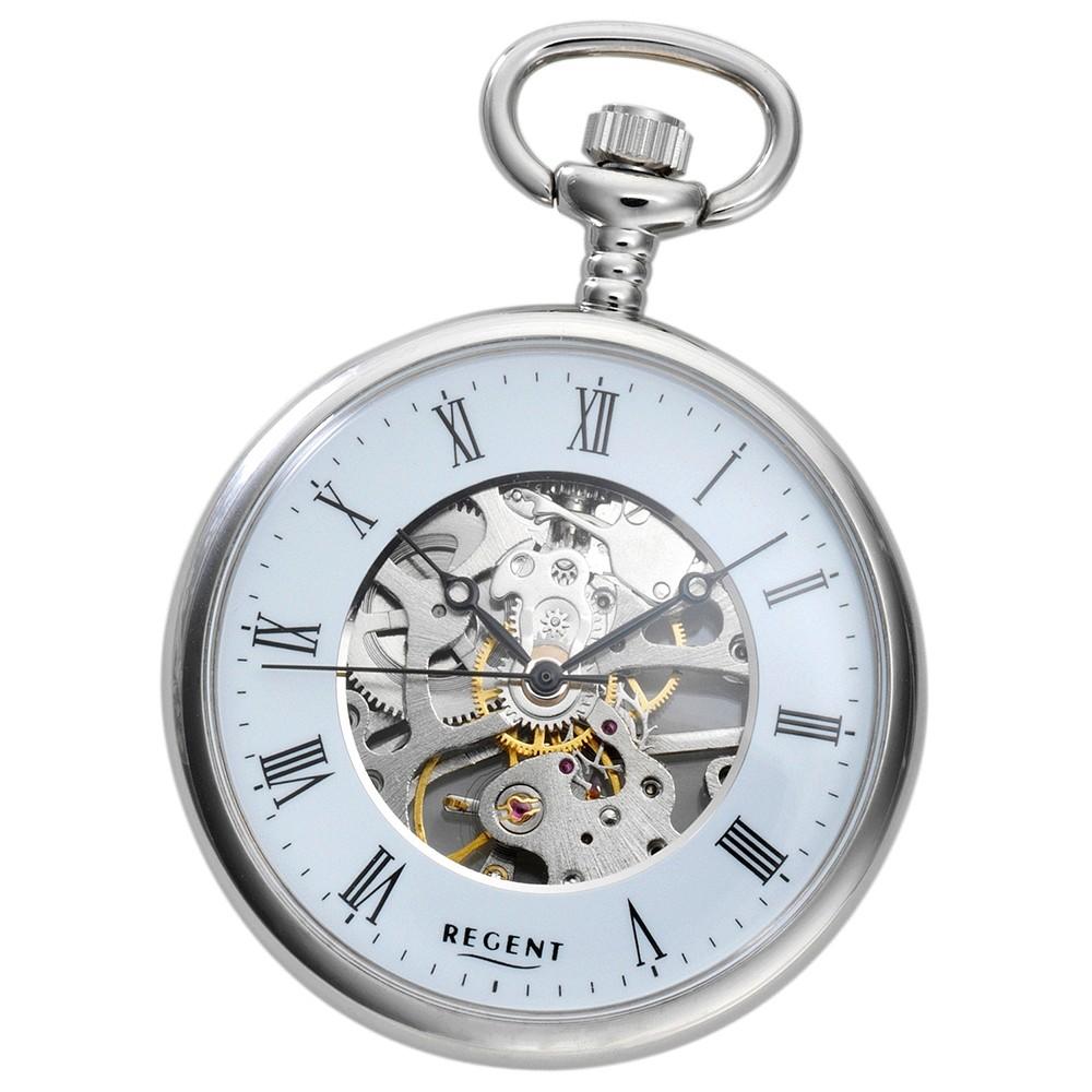 Regent Damen, Herren Taschenuhren mechanisches Uhrwerk Handaufzug URP031