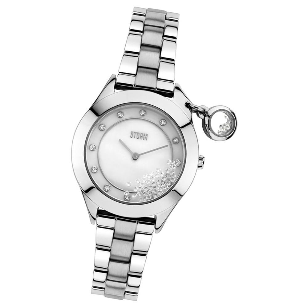 STORM Damenuhr silber Edelstahl Armband Uhr SPARKELLI SILVER UST47222/S0