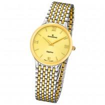 Candino Herren-Armbanduhr Timeless analog Quarz Edelstahl 316 L Bicolor UC4414/2