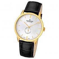 Candino Herren-Armbanduhr Timeless analog Quarz Leder UC4471/1