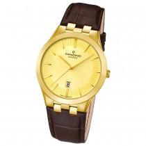 Candino Herren-Armbanduhr Timeless analog Quarz Leder UC4542/2