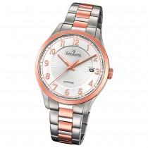 Candino Herren-Uhr Edelstahl silber roségold C4609/1 Quarz Klassisch UC4609/1