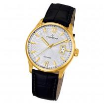 Candino Herren Armbanduhr Classic Timeless C4693/1 Quarz Leder schwarz UC4693/1