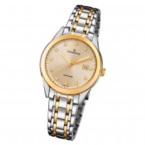 Candino Damen Armbanduhr Couple C4695/2 Quarz Edelstahl silber gold UC4695/2