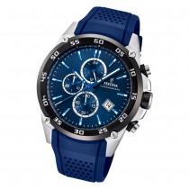 Festina Herren Armbanduhr The Originals F20330/2 Quarz PU blau UF20330/2