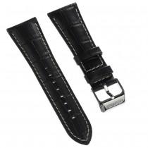 Festina Herren Uhrenarmband 28mm Leder-Band schwarz für Festina UFA16235/S