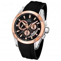 JAGUAR Herren-Armbanduhr Special Edition Saphirglas Quarz PU schwarz UJ689/1