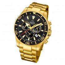 Jaguar Herren-Armbanduhr Edelstahl gold J864/3 Saphir Executive UJ864/3