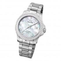 Jaguar Damen Armbanduhr Cosmopolitan J892/1 Analog Edelstahl silber UJ892/1